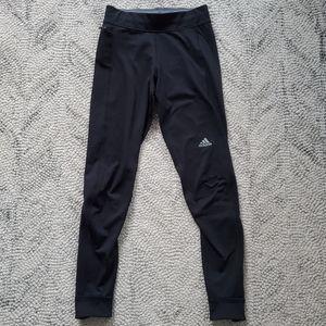 Adidas Climawarm Black Running Leggings Size XS